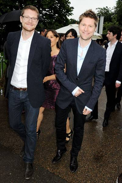 Simon Woods and Christopher Bailey