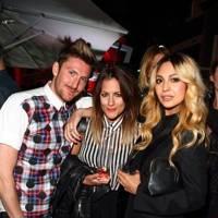 Henry Holland, Caroline Flack and Zara Martin