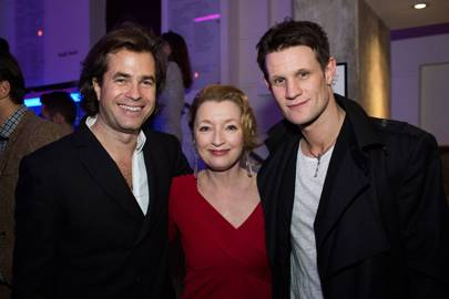 Rupert Goold, Leslie Manville and Matt Smith