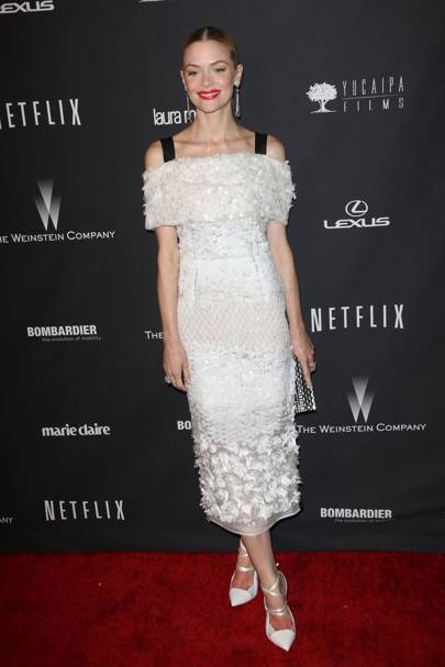 Jaime King in Prabal Gurung