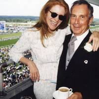Mary Jane Salk and Michael Bloomberg