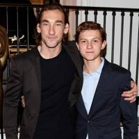 Joseph Mawle and Tom Holland