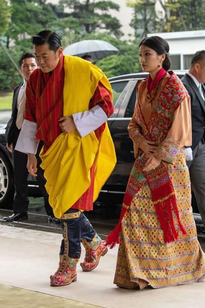 King Jigme Khesar Namgyel Wangchuck and Queen Jetsun Pema of Bhutan