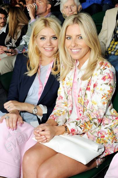 Holly Willoughby and Mollie King