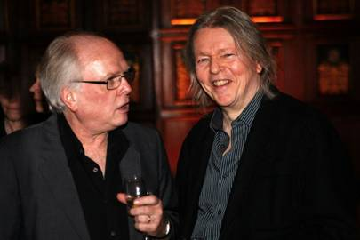 Michael Attenborough and Christopher Hampton