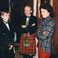 Ronald Cheape, Hugh Cheape and Mrs Angus Cheape
