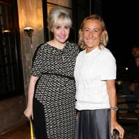 Miuccia Prada and Lena Dunham