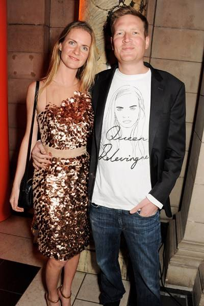 Chloe Delevingne and Edward Grant