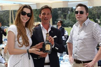 Talulah Riley, The Duke of Argyll and Elon Musk