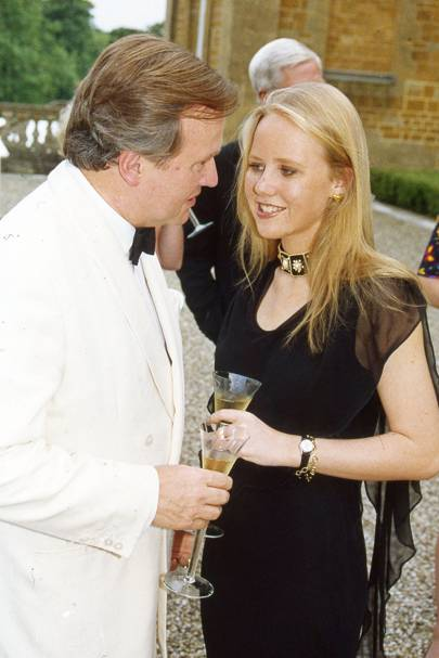 Sir Anthony Bamford and Alice Bamford