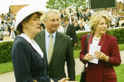 Countess De La Warr, Richard Hambro and Mrs Richard Hambro
