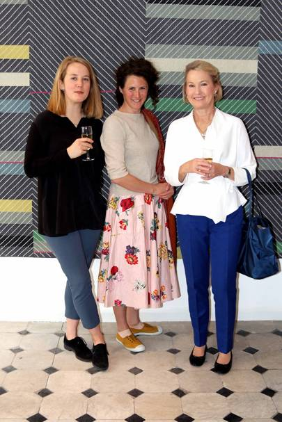 Anna Long, Lucy Hammond Giles and Liz Downing