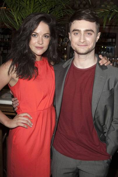Sarah Greene and Daniel Radcliffe