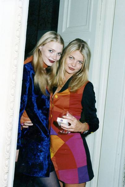 Jodie Kidd and Jemma Kidd