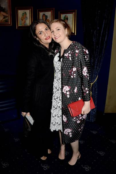 Jennifer Konner and Lena Dunham