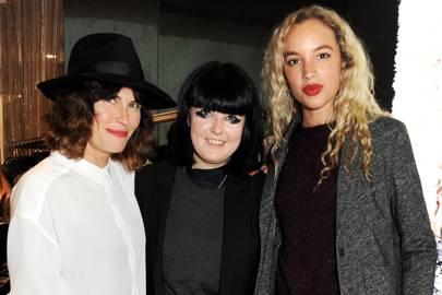 Tabitha Denholm, Ellie Grace Cummings and Phoebe Collings-James
