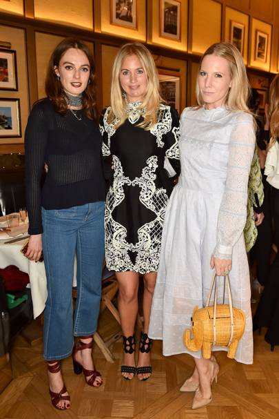 Lady Violet Manners, Marissa Montgomery and Alice Naylor-Leyland