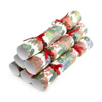 Liberty Berry and Cone Mix Christmas crackers