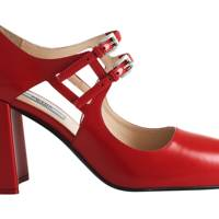 Leather heels, £550, by Prada