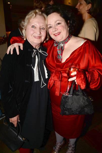 Celia Birtwell and Linda Watson