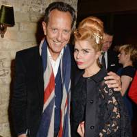Richard E Grant and Paloma Faith