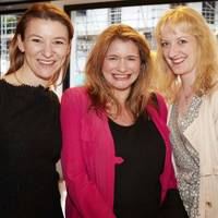 Katie Manderson, Sharon Hanley and Camilla Morton