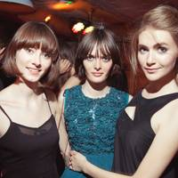 Samantha Rollinson, Eve Delf and Charlotte Wiggins