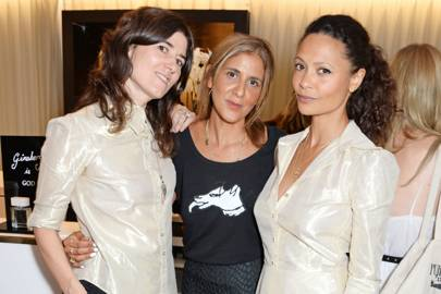 Bella Freud, Azzi Glasser and Thandie Newton