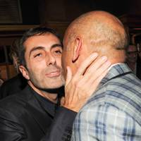 Giambattista Valli and Christian Louboutin