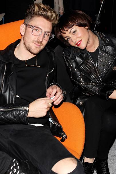 Henry Holland and Jaime Winstone
