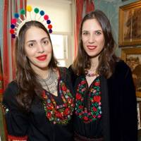 Dana Alikhani and Tatiana Santo Domingo