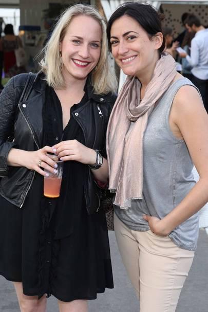 Stephanie Sheperis and Marie Morvan