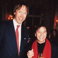 The Hon James Stourton and Raymond Blanc