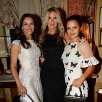 Carmen Haid, Amanda Wakeley and Bip Ling