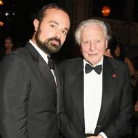 Evgeny Lebedev and Sir David Attenborough