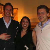 William McCarren, Christina Petrou and Patrick Wakefield