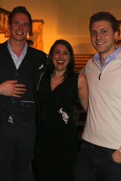 William McCarren, Christina Petrou and Patrick Wakefield