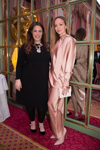 Mary Katrantzou and Tamara Ralph