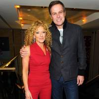 Kelly Hoppen and Peter Jones