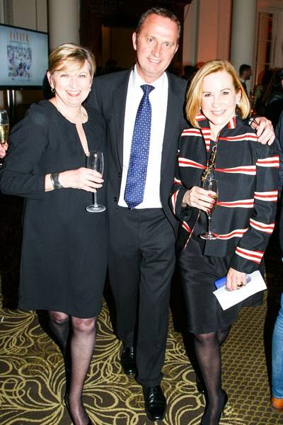 Gerrie Pitt, Simon Girling and Gerri Gallagher