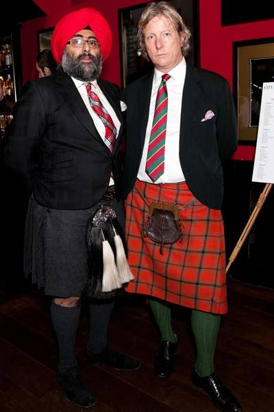 Hardeep Singh Kohli and Ranald Macdonald
