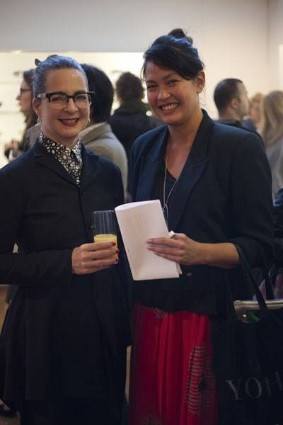 Professor Frances Corner OBE and Ligaya Salazar
