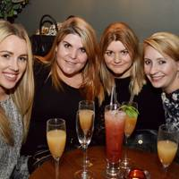 Emma Tinker, Christine Fraser, Nicki Stephens and Alice Bradburn
