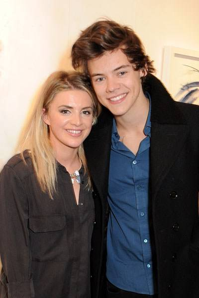 Juliette Loughran and Harry Styles