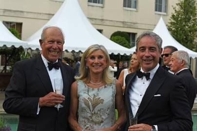 David Clark, Sue Taylor and Giles English