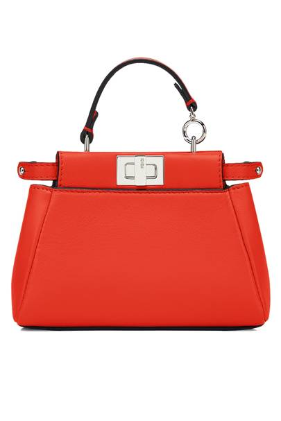 Calfskin bag, £930, by Fendi