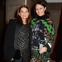 Natalie Massenet and Caroline Rush