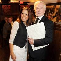 Gemma Oaten and Sir Derek Jacobi