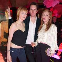 Edie Campbell, Otis Ferry and Josephine de la Baume