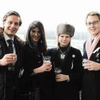 Etienne Teillaud, Charlotte Holman, Alice Hastings Bass and Antoine Forterre